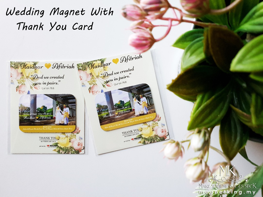 Wedding Magnet MK